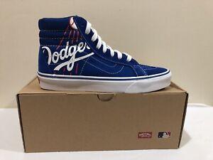 Vans-X-MLB-Sk8-Hi-LA-Dodgers-VN0A2XSBRT1-Men-s-Size-8