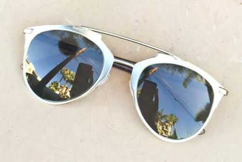 NEW Large Aviator Mirror So Reflected Famous Hipster Glasses Sunglasses 10096 IT