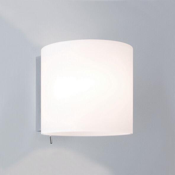 Astro luga 0411 rojoonda Regulable Interruptor Luz De Parojo 60w E14 Lámpara Ip20 Plata