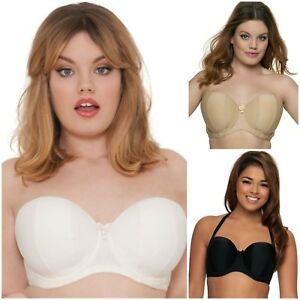 f763b2a3764 Image is loading Curvy-Kate-Luxe-Bra-Underwired-Padded-Strapless-Multiway-