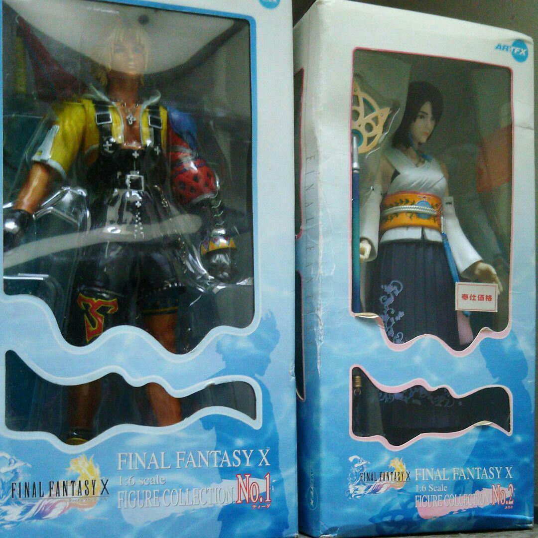 ARTFX Kotobukiya 2001 Final Fantasy X 10 Figures Collection Tidus Yuna 1 6 Scale