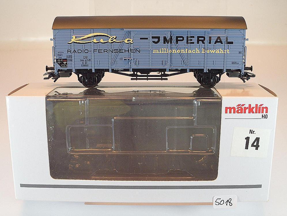 Märklin H0 48161 Jahreswagen 2011 Güterwagen Kuba Imperial OVP