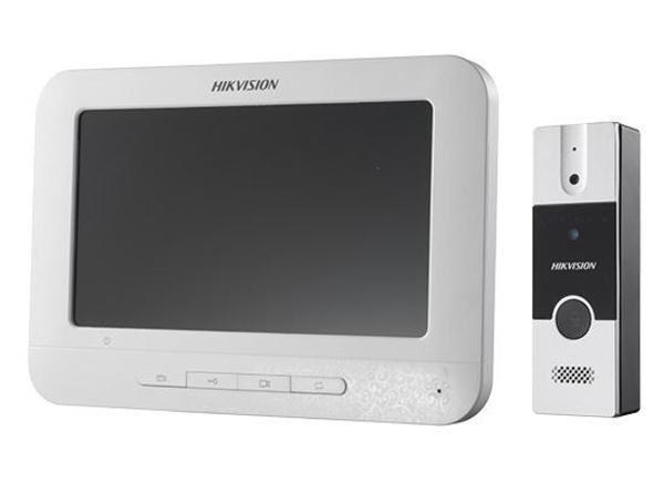 Hikvision DS-KIS202 Kit de intercomunicación de video analógico un