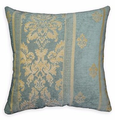 We601a Paisley Leaf Damask Chenille Throw Cushion Cover//Pillow Case*Custom Size