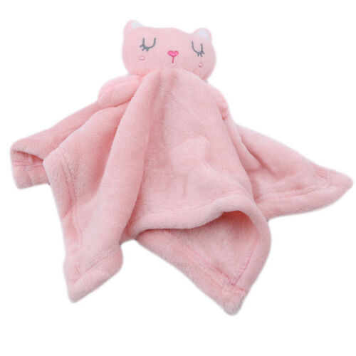 Newborn Baby Towel Soft Intant Sleep Appease Blanket Plush Animal Doll Toy Towel