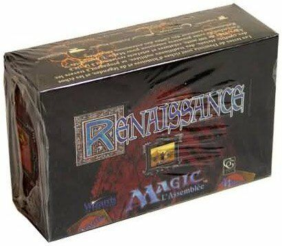 Renaissance Booster Box (FRENCH) FACTORY FACTORY FACTORY SEALED BRAND NEW MAGIC MTG ABUGames eefd98