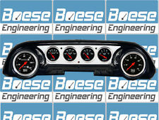 63-64 Ford Galaxie Billet Aluminum Dash Insert Gauge Panel Instrument Cluster