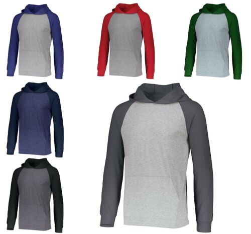 LIGHTWEIGHT HOODIE PULLOVER MEN/'S UNLINED TWO COLOR S-3XL HIGH PERFORMANCE