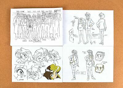 Gunsmith Cats Settei Sheets 【71pages】