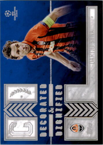 You Choose 2015-16 Topps UEFA Champion League Showcase Decorated and Dignified