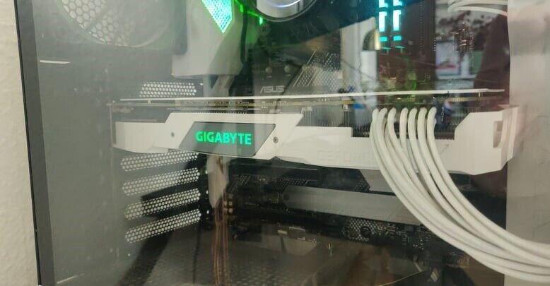 GeForce RTX 2070 OC GIGABYTE, 8 GB RAM, Perfekt