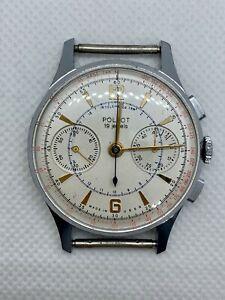 Vintage POLJOT Strela 3017 RARE Soviet Chronograph