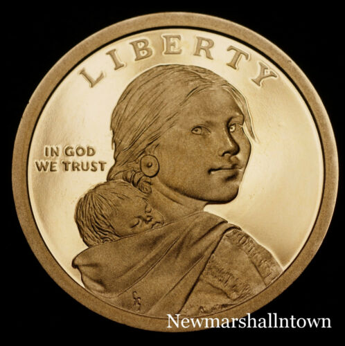 2018 P+D+S+S Native American Sacagawea Reverse Proof PD AB from Mint Proof Set