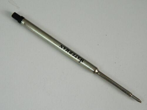 1 x Ricarica inchiostro Ricambio penna sfera Nero fine WATERMAN R200