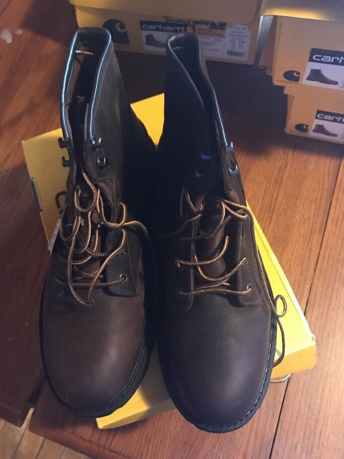Carhartt  6  Unlined Work DKBNOT, Soft Toe. Size 12W  simple and generous design