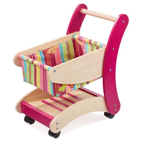 Howa Caddie enfants en bois pour épicerie nature//Coloré 4882