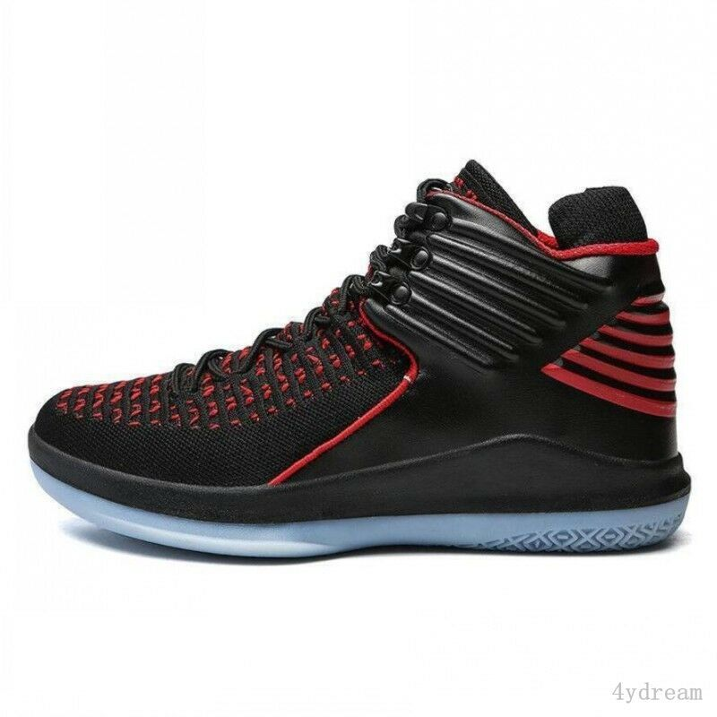 Men Basketball chaussures High Top Outdoor Lace Up Sport chaussures Athletic baskets 37-47