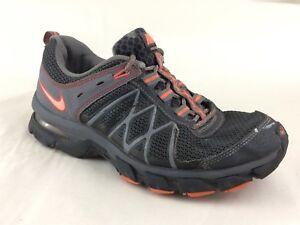 fornire un'ampia selezione di nuovi speciali le migliori scarpe Nike Air Trail Ridge 2 Womens 9 M Running Shoes 472687 Orange Grey ...
