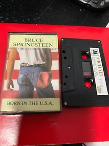 BRUCE-SPRINGSTEEN-BORN-IN-THE-USA-Michael-725-Cassette-Tape-Rare