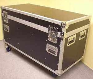 Kiste Mit Rollen universal tour 120 cm transport kiste mit trennwänden rollen