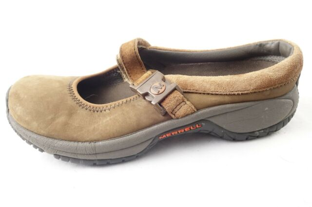 Clothing, Shoes & Accessories Merrell Brown Suede Mary Jane Womens Us 9 Slip On Shoes 033 Athletic Shoes