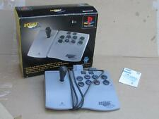 VINTAGE ASCIIWARE PLAYSTATION ONE 1 PS2 PSX ARCADE STICK CONTROLLER BOXED