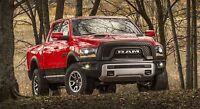 2016 Dodge Ram 1500 Hemi Red Pick Up Truck 43 X 24 Large Hd Wall Poster Print