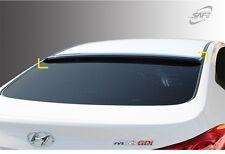 Smoke Rear Roof Glass Wing Visor Spoiler K996 for Hyundai Elantra 11-16
