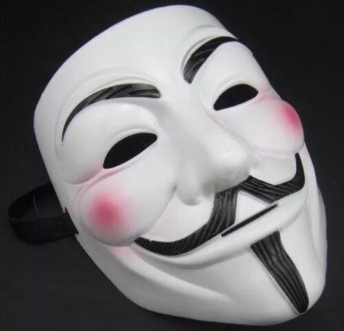 Vendetta V Face Mask Halloween Bonfire Night Guy Fawkes Anonymous  Fancy Dress