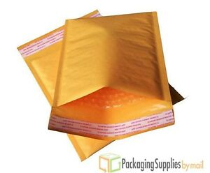 """400 #2 ECOLITE KRAFT 8.5"""" x 12"""" BUBBLE MAILERS PADDED ENVELOPES BAGS 8.5x12"""
