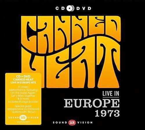 Canned Heat - Live in Europe 1973 [New CD] Bonus DVD, PAL Region 2, UK - Import