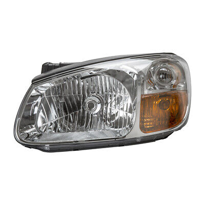 TYC 20-11847-00 Replacement Passenger Side Head Lamp for Kia Spectra