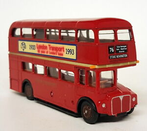 EFE-1-76-Scale-RM1818-Code3-London-Routemaster-60-Years-1993-Diecast-Model-Bus