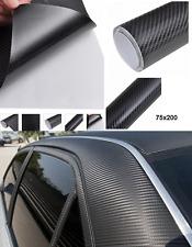 PELLICOLA IN CARBONIO 3D 75X200 AUTO/MOTO ADESIVA TIPO 3M ANTIGRAFFI