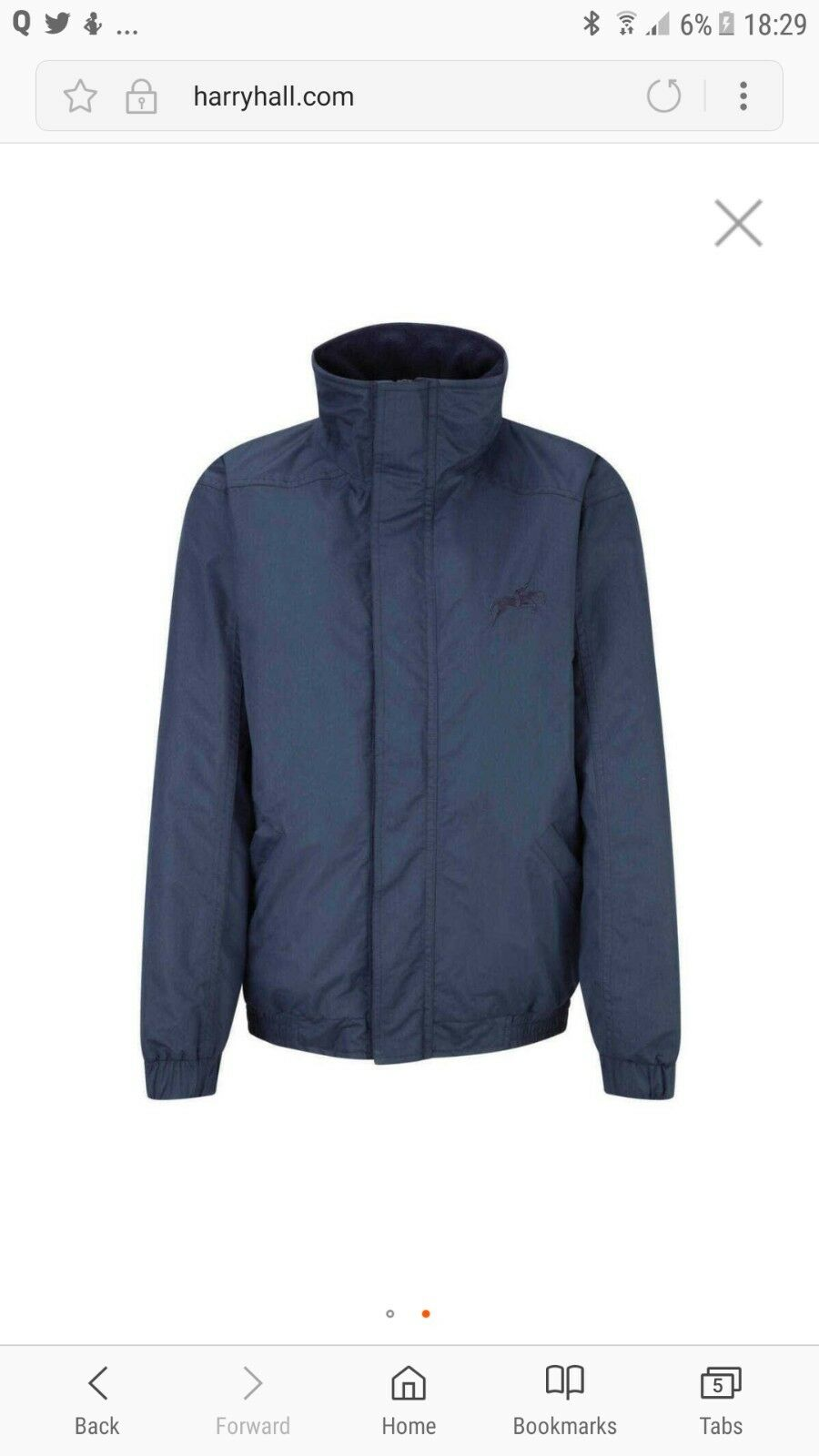 Harry hall kids blouson coat 11-12 BNWT