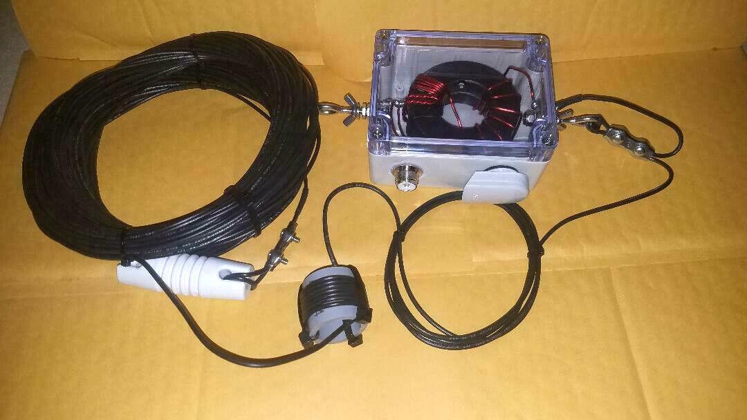 HF End Fed Antenna UJM-EFHW-80-10-1kW+ 130 ft long. Buy it now for 169.99
