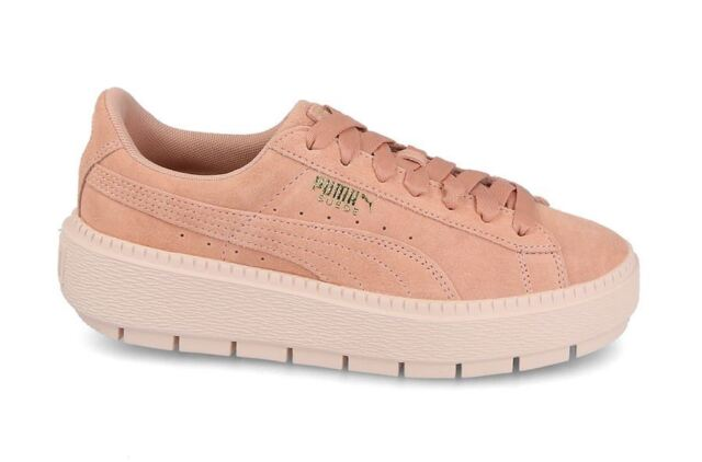38 Sneakers Trace Women's Pink Casual Puma Platform fm7vYbI6gy