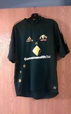 Adidas 1/4 Zip Commonwealth Bank Climalite Cricket Jersey Adult XL EUC