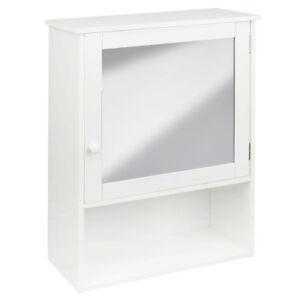 Spiegelschrank-Landhaus-weiss-Badezimmerschrank-Haengeschrank-Wandschrank-Spiegel