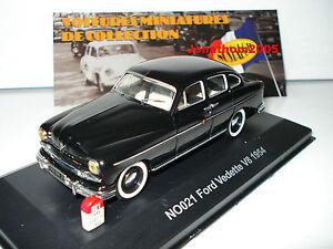 FORD vedette V8 1954 GQ2A voiture UNIVERSAL HOBBIES NOSTALGIE 1//43