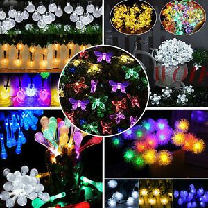 Bright LED Christmas Xmas String Fairy Lights Indoor Outdoor Tree Party Decor