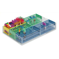 Tube Rack Organizers 6-place Rack Holds 360-540 Tubes 20l X 13w X 2.5h 1 Ea on sale