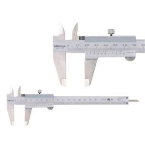 Bolsos calibrador mitutoyo 530-101 150 mm Inox lectura 0,05 mm nuevo embalaje original