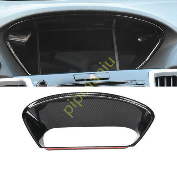 Carbon Fiber Interior Front Dashboard Trim Decoratio Fit