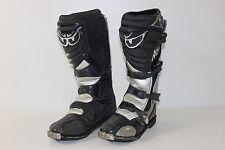 Berik Ricky Carmichael RC #4 Mens 12 Black Gray Motocross Off Road Riding Boots