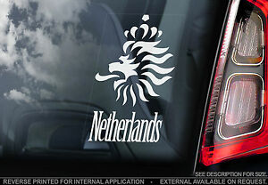 Netherlands  Car Window Sticker  The Dutch Lion Holland Football Sign Art - <span itemprop=availableAtOrFrom>Sticker HQ, United Kingdom</span> - Returns accepted Most purchases from business sellers are protected by the Consumer Contract Regulations 2013 which give you the right to cancel the purchase within 14 days after the d - Sticker HQ, United Kingdom