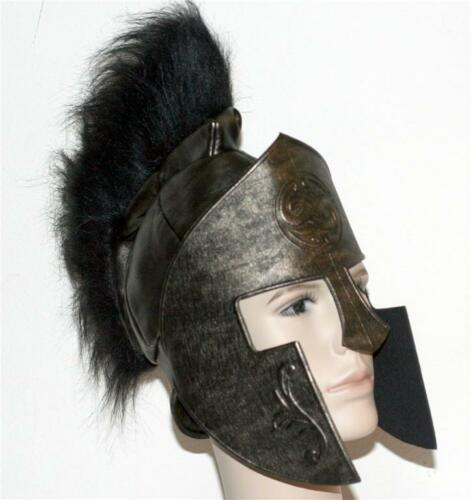 300 SPARTANS KING LEONIDAS Greek Spartan PADDED HELMET HEADGEAR ARMOR Costume