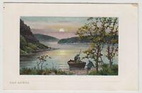 Stirlingshire postcard - Loch Katrine - RP