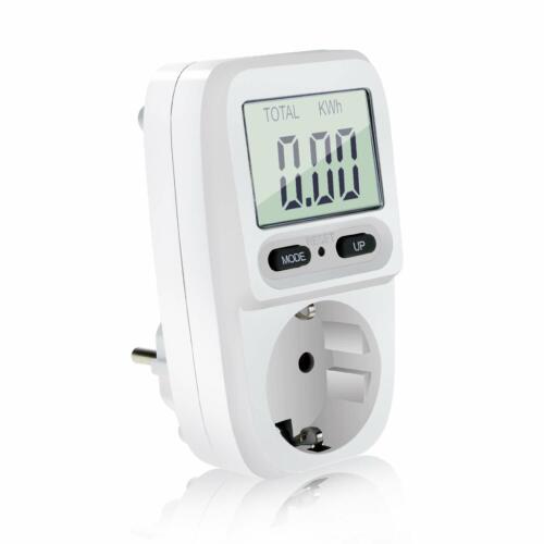 Homga Energiekostenmessgerät Digitaler Energiekosten Messer Leistungsmessgerä...