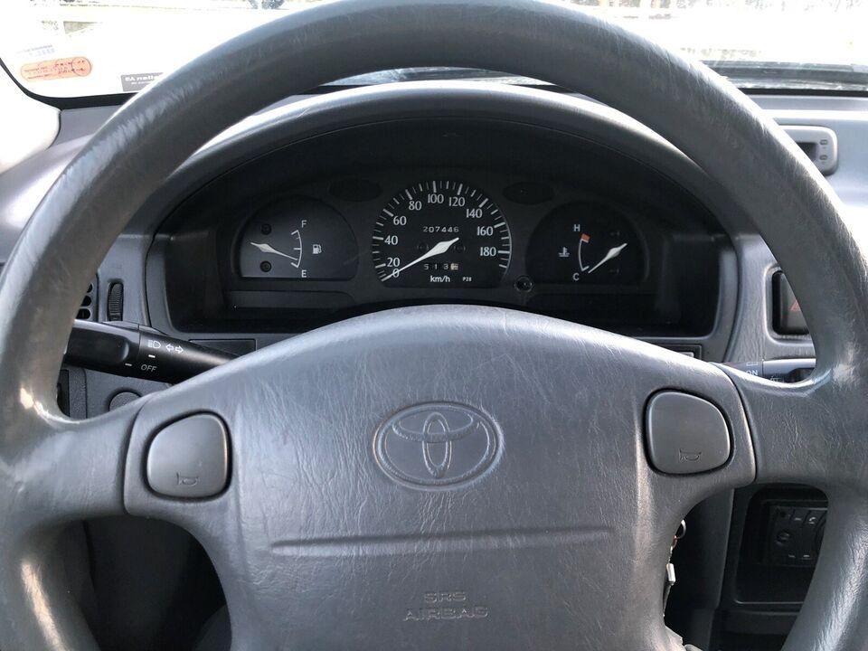 Toyota Starlet, 1,3 XLi, Benzin